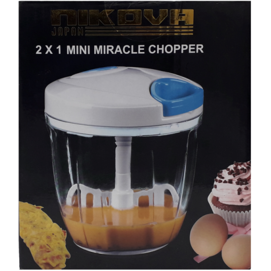 Nikova 2x1 mini miracle chopper